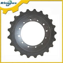 excavator undercarriage parts chains sprocket used for Komatsu pc128-2 pc128-5 pc128-6 excavator spare parts