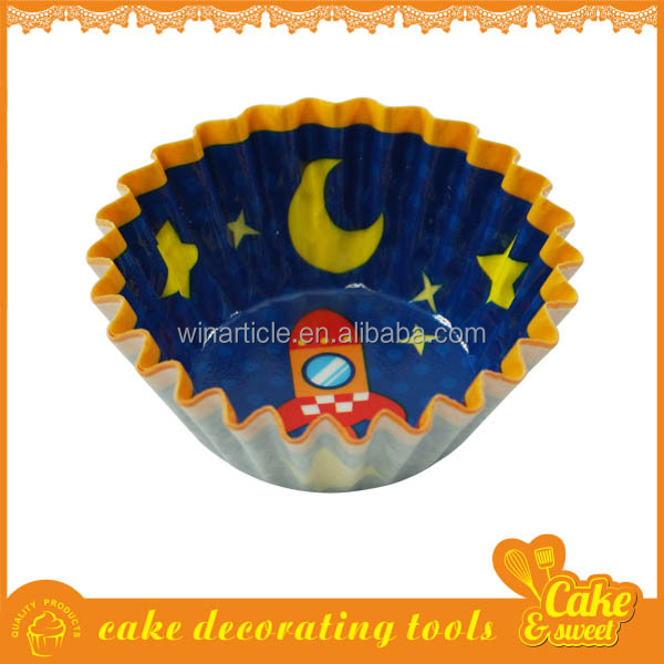 Food Quality Greaseproof Paper Cupcake Wrappers,Liners