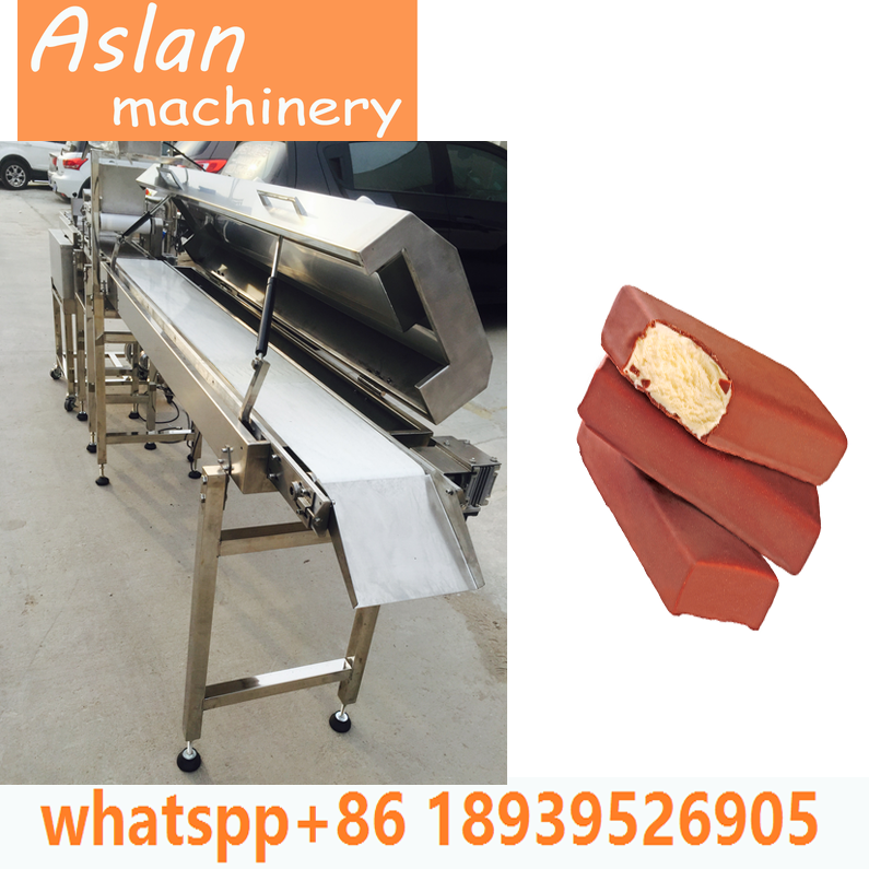 enrobing machine for biscuit cake donut/chocolate enrober with cooling tunnel/chocolate depositing machine