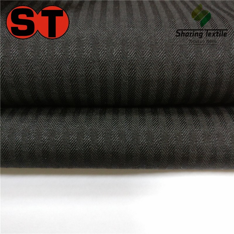 Manufacture Directly 75D(100D)*45S Polyester Spun Herringbone&Fishbone Dobby Pocket & Waistband&Spun Yarn Pocket Lining Fabric