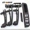 Set of power window switch panel door handle Window Switch Panel Trim for VW Passat Jetta Golf MK4