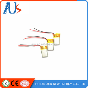 3.7v 85mah Li-polymer Battery Pack 3 Wire