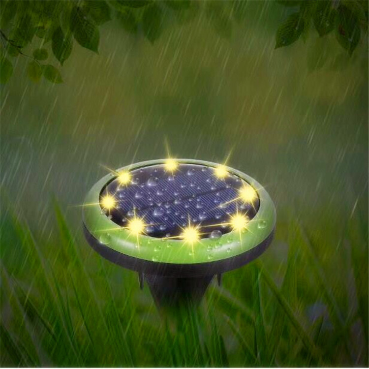 China supplier High grade ABS Waterproof ip65 SMD 8 LED lights for your garden