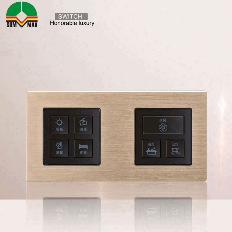 waterproof dimmer electric light toggle wall metal looking touching 12v time delay off switch