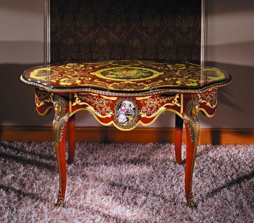 Luxury French Louis Xv Style Vintage Gold Console Table/ Antique ...