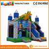 Dragons Den Inflatable Caste Combo Jumping Bouncer with Slide