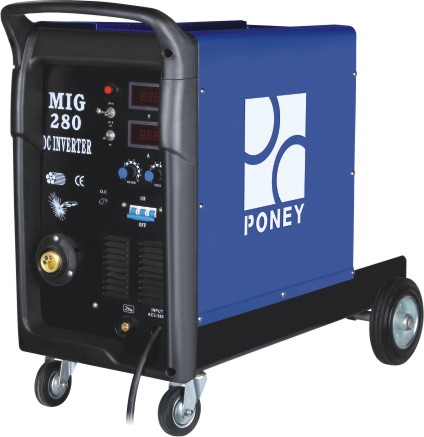 poney plastic MIG welding machine with CE/ROSH/GS certificate
