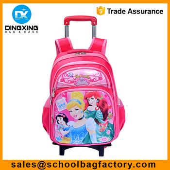 413d4ecadc wheeled school bag for girls Manufacturer School Trolley Bag kids trolley  school bag