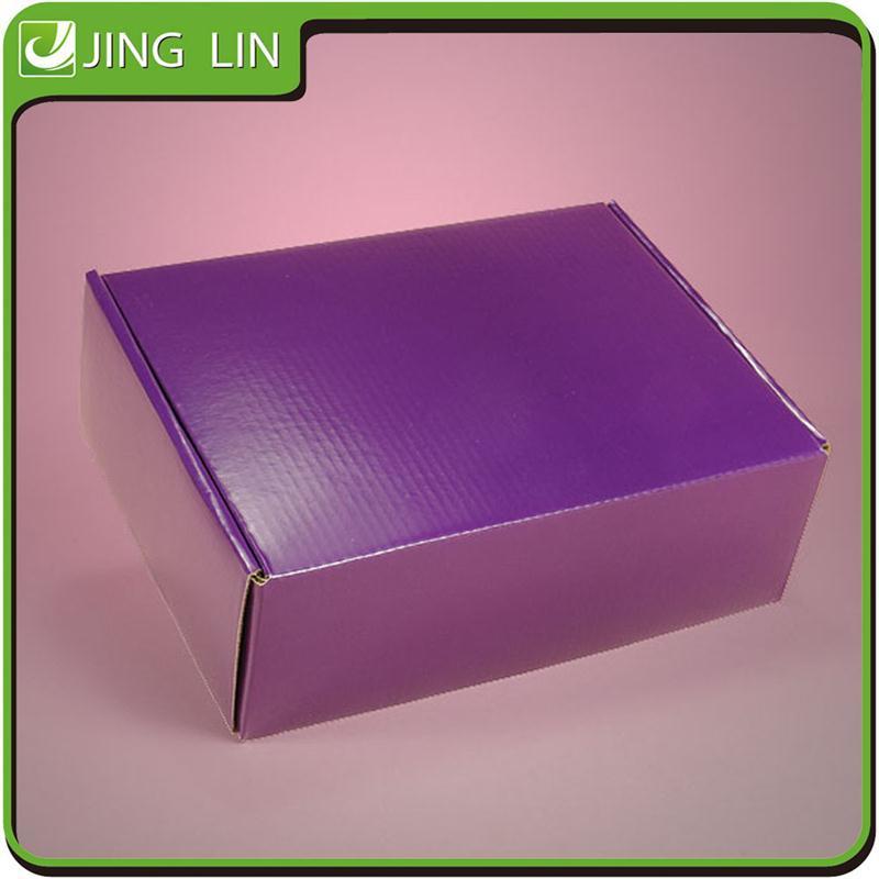 Personnalis recyclable emballage bo te en carton ondul caisses d 39 emballage id de produit - Boite en carton recycle ...
