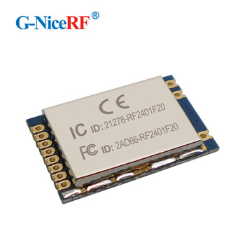 G-NiceRF RF2401F20 2.4G High Integrated RF Modul nRF24L012.4ghz rf amplifier transmitter module
