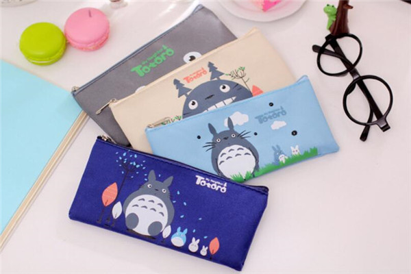 2016 Korea Cute Pencil Bags Oxford Fabric Pencil Bags for Boy&Girls