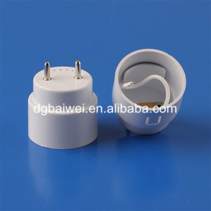 LED fluorescent lamp holder buckle end caps T8