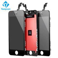 Wholesale price lcd factory direct full LCD screen for Iphone 5s touch screen,for iphone 5s lcd with digitizer assembly