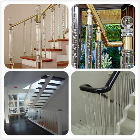 Hot Sale Clear Acrylic Curtain Rod/plexiglass Round Plastic ...
