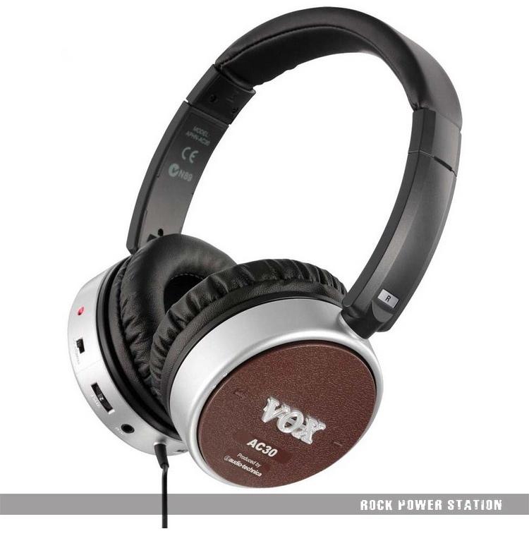 100 original vox ac30 active guitar headphones ac30 electric amplifier amp amphones free. Black Bedroom Furniture Sets. Home Design Ideas