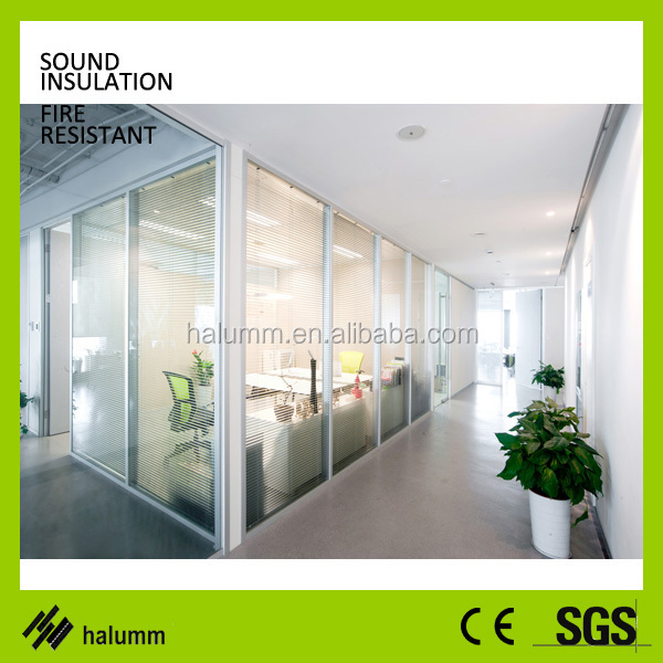 Soundproof Office Partition Wall Office Division Panels Modular ...