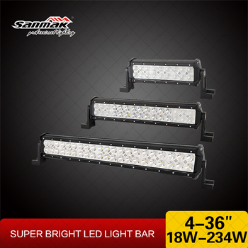 6000k Waterproof Cree 18 Watt Cheap Led Light Bars In China For ...