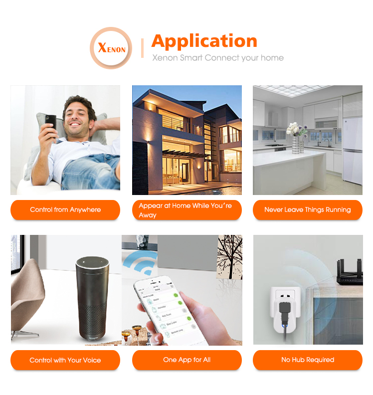 Factory provide Smart home Latest temperature humidity sensor work with Alexa