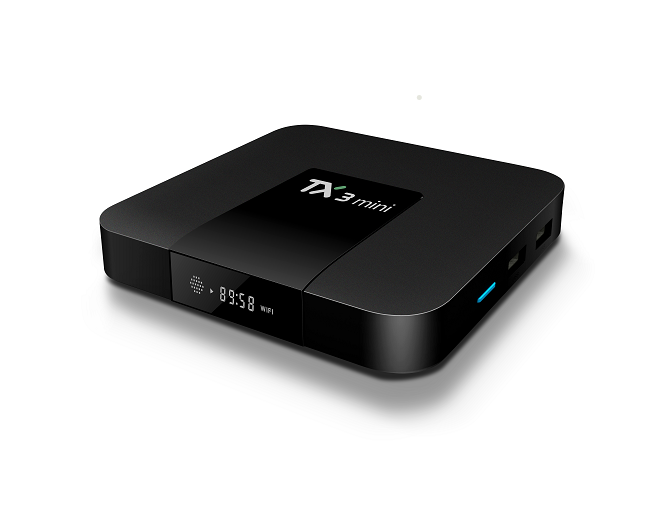 Cheapest TX3 mini Android 7.1 tv box 2GB Ram 16GB Rom 4k media player WIFI DLNA Airplay Android iptv set top box