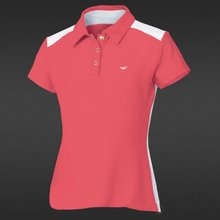 Tennis polyester spandex polo shirts women wholesale