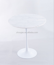 Factory direct sell marble tulip Coffee Tea table