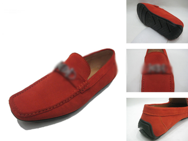 2015 Fashion Suede Flat Loafers Hot Men'S Casual Buckle Leather Sneakers Breathable Moccasin Loafers Driving Shoes  071613