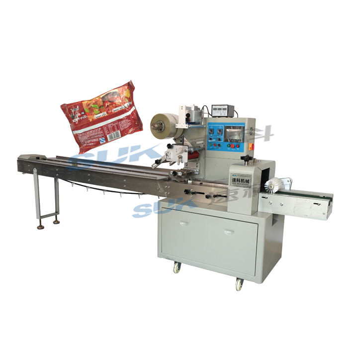 Automatic food Horizontal packaging machine