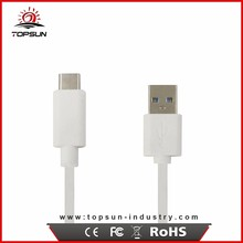 Factory Supply White / Black 1m type-c usb 3.0 cable