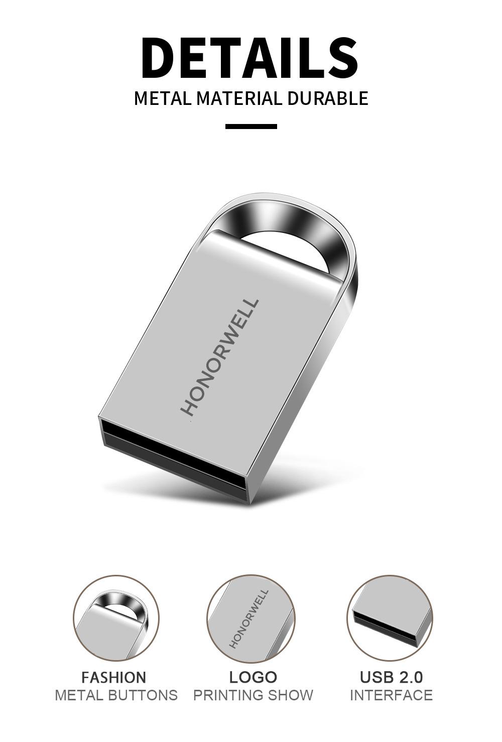 Free Sample USB Flash Drive Promotion Gift USB Pen Drive Metal usb flash drive 128gb Customize LOGO