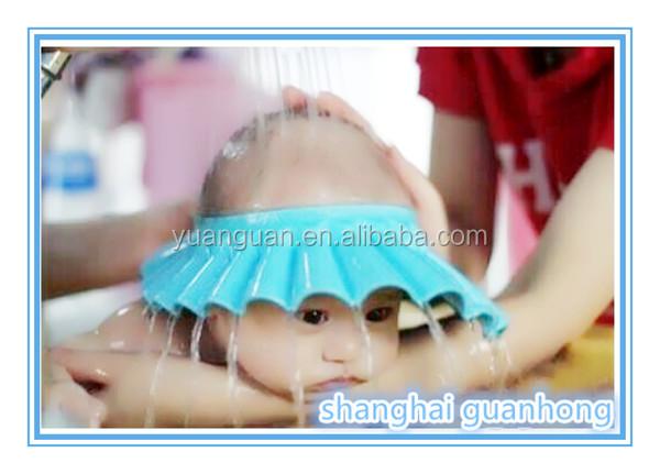 Baby Bathing Cap/shower Capbaby Bath Caps Hot Selling Foam Waterproof EVA Baby  Shower Cap