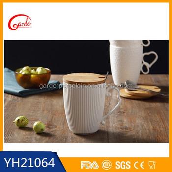 Nueva porcelana tazas de t chino con tapas buy product for Tazas de te con tapa