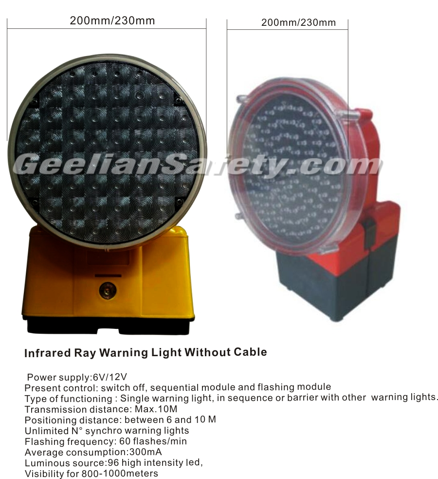 9-110V CE waterproof LED flashing beacon warning light/led rotating lamp
