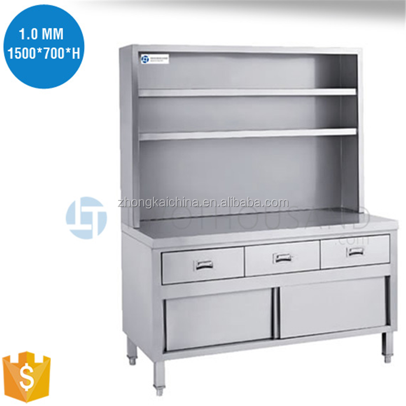Metal Wall Cabinet custom stainless steel commercial kitchen equipment wall cabinet