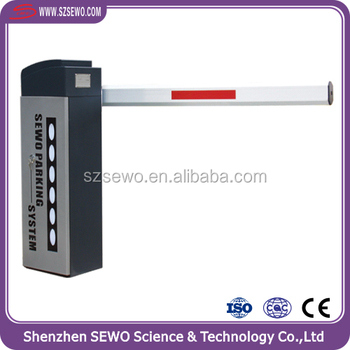 Outdoor Middle Speed 6m Pole Car Park Barrier Systems Parking