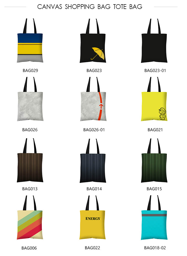 Eco-Friendly Wholesale Canvas Shopping Tote Bag Cotton Custom Printed