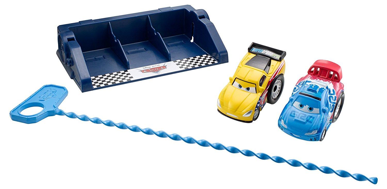 Disney/Pixar Cars Launchers Jeff Gorvette and Raoul Caroule 2-Pack