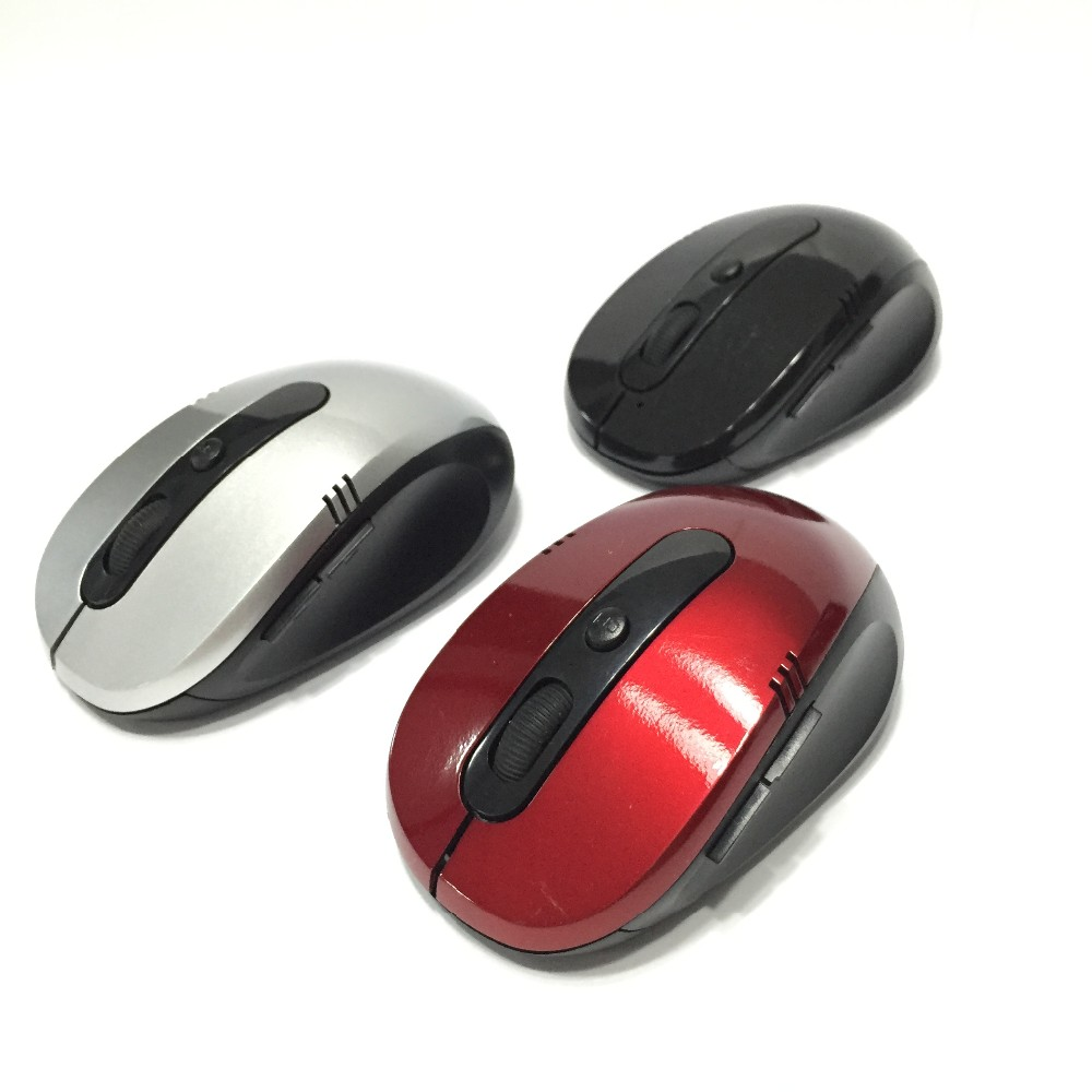 6 Buttons Mouse Computer 6D Wireless Mouse