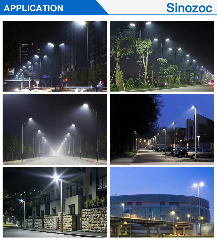 Sinozoc slim led light for street and road ip66