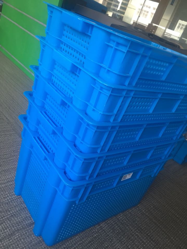 Hot sale nestable plastic crates for fruits and vegetables distribution