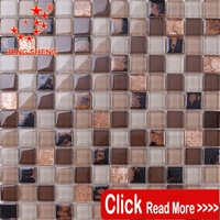 TC70 Luxury Mixed color tile subway For bathroom