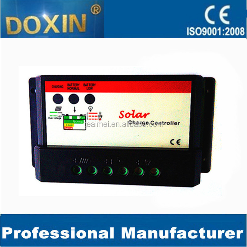 Alternative & Solar Energy Active 12/24v 20a Pwm Solar Charge Controller With Timer Function Ip67 100% High Quality Materials