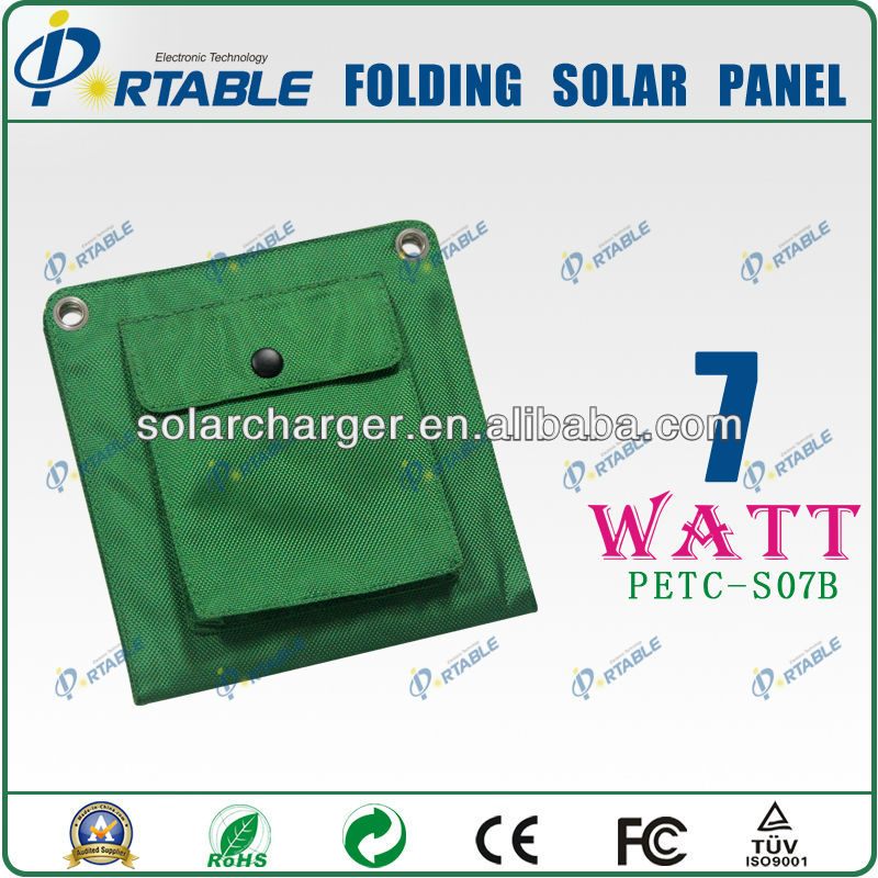 Outdoor Solar Charger 7W solar charger for nokia mobile