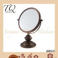 Antique Table Venetian Aluminum Mirror Glass