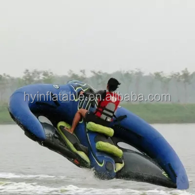 2018 Crazy inflatable kayaks skiing inflatable wave jet boat water jet ski boat for sale