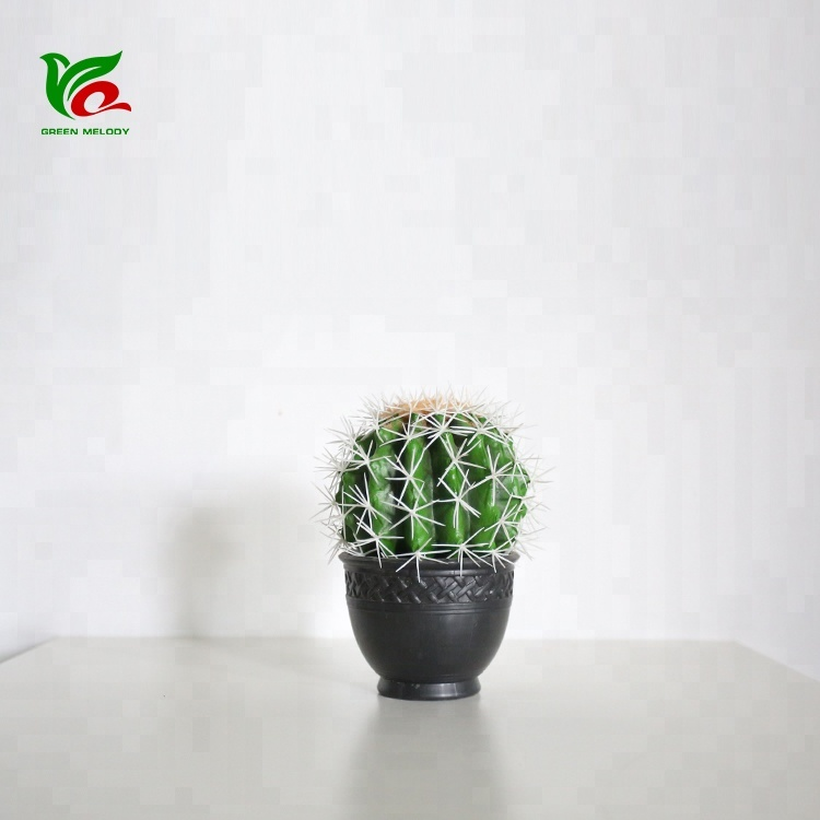 Areg Plant 18 cm Kunstmatige Cactus Home Decor Barbary Fig Indoor Huis Ornament