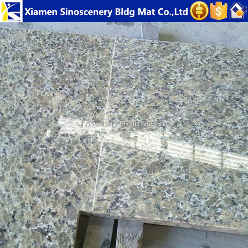 Cheap yellow granite slabs polished with customer sizes