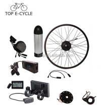 350W 20inch 26inch 28inch 700C bafang hub motor with downtube battery electric bicycle conversion kit