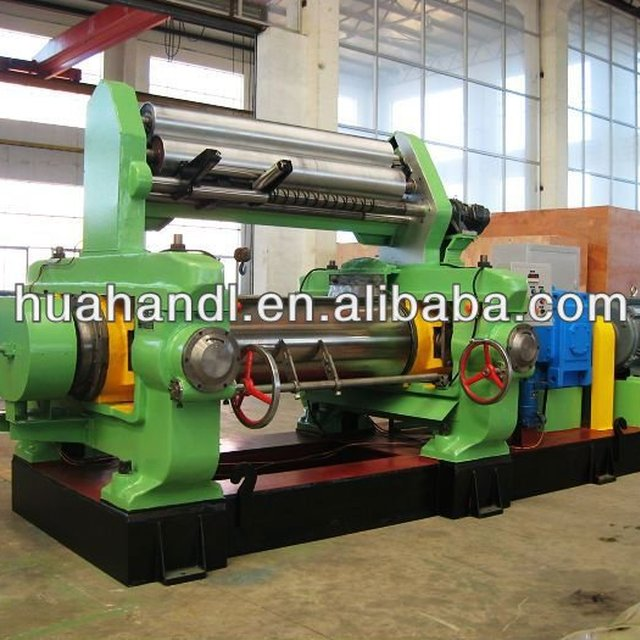 tire making machine/two roll rubber open mixing mill