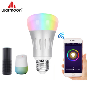 Wifi light Switch Alexa Smart E26 E27 7W Led Light Bulb Price China
