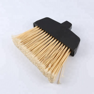 Home Dust Cleaning Plastic Little Angle Broom Flagged Head